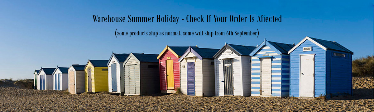 Summer Holiday Warehouse Timetable