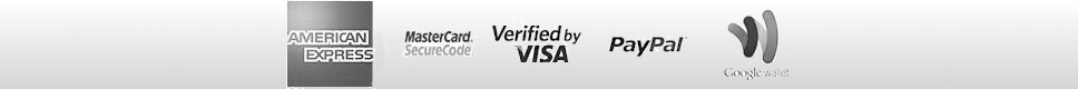 We accept most major credit card, PayPal, Google Wallet, Bank Transfers & UK Cheques