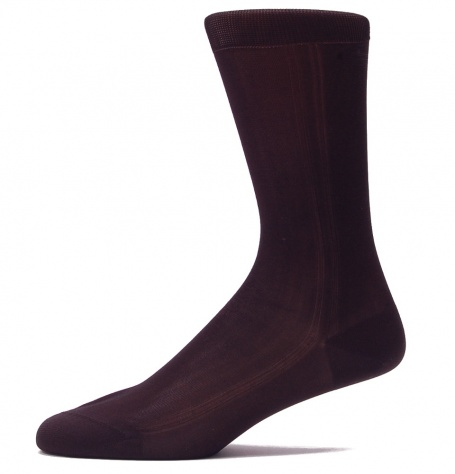 Black Silk Socks