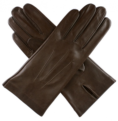 Dents Ladies Unlined Short Leather Gloves - Mocca