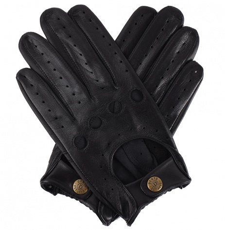 Dents Touchscreen Driving Gloves - Black