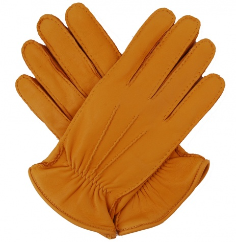 Men's Deerskin Rancher Glove - Yellow