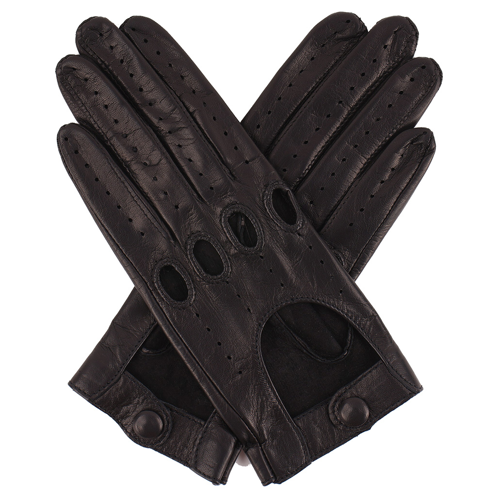 Set out on the road in a pair of leather driving gloves, the ultimate symbol of freedom and style. We carry high-quality driving gloves with knuckle holes for flexibility, finger vents for cool hands, and snap closures for an excellent fit.