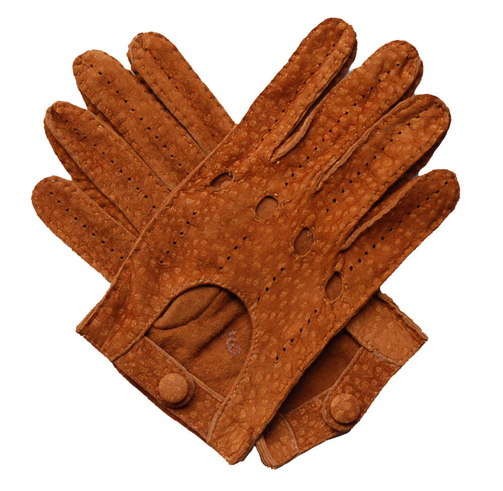 Driving gloves for suede steering wheel - Men S Carpincho Leather Driving Gloves Cognac