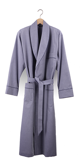 Bonsoir Dressing Gown - Finesse Grey