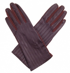 Dents Ladies Stretch Mocca Leather Gloves