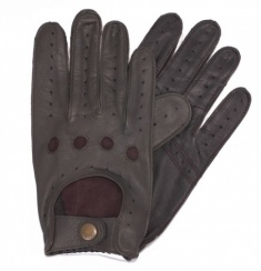 BRG/Brown Driving Gloves