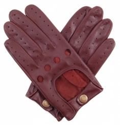 English Tan Nappa Leather Driving Glove