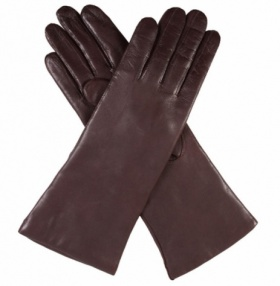 Dents Ladies Cashmere Lined Leather Gloves - Mocca
