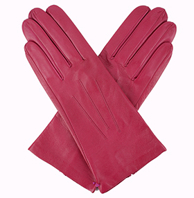 Dents Ladies Silk Lined Leather Gloves - Azailia