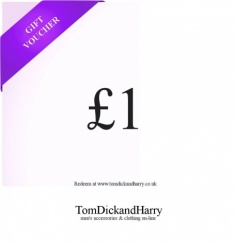 Tom Dick and Harry Gift Voucher - £1
