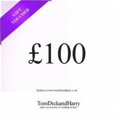 Tom Dick and Harry Gift Voucher - £100