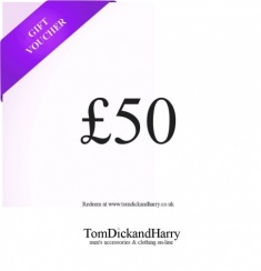 Tom Dick and Harry Gift Voucher - £50