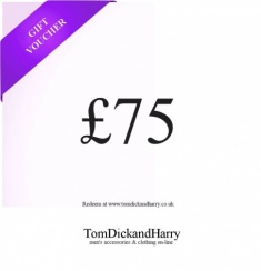Tom Dick and Harry Gift Voucher - £75