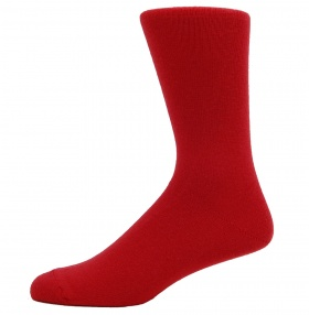 McTavish Men's Wool Socks - Red