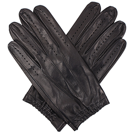 Tom Dick and Harry Men's Full Driving Gloves - Black
