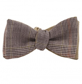 Tom Dick and Harry Self-Tie Bow-Tie - Brown POW