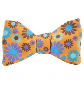 Tom Dick and Harry Self-Tie Bow-Tie - Flower Power