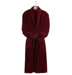 Earl Claret Plush Dressing Gown