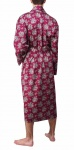 Bown Dressing Gown - Gatsby Wine Paisley
