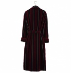 Bown Dressing Gown -Marchand Velours Stripe