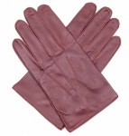 Men's English Tan Leather Professional Driving Gloves by Dents