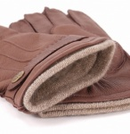 Men's Deerskin Gloves with Cashmere Lining