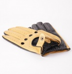 Dents Silverstone Touchscreen Driving Gloves - Cork & Black