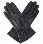 Dents Natalie Touchscreen Leather Gloves - Black