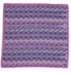 Zana Zig Zag Silk Pocket Square