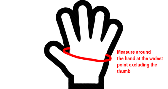 How to Measure Your Hand For Gloves