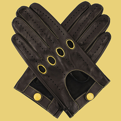 Men's Carpincho Leather Driving Gloves