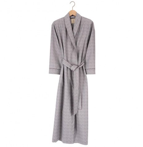 British Boxers Ladies Robe - Earl Grey Tearose