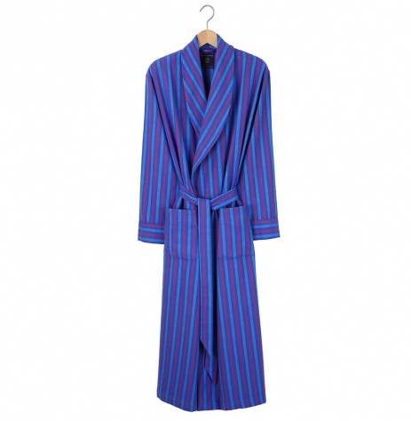 British Boxers Men's Robe - Jester Flannel