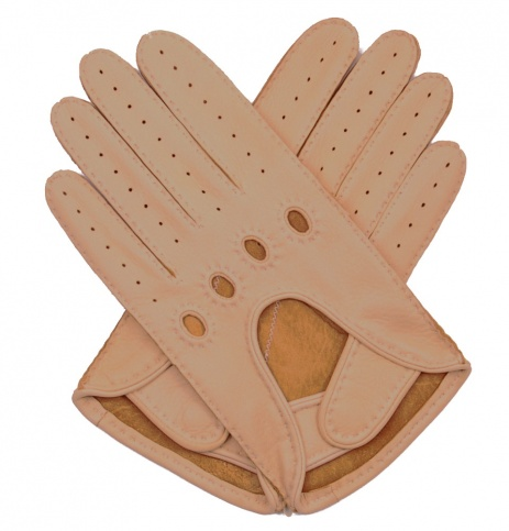 Chamois Deerskin Driving Gloves