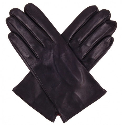 Skyfall Unlined Black Leather Gloves