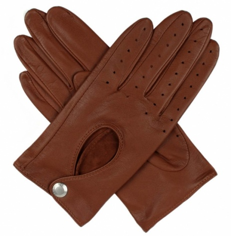Dents Ladies Driving Gloves - Cognac