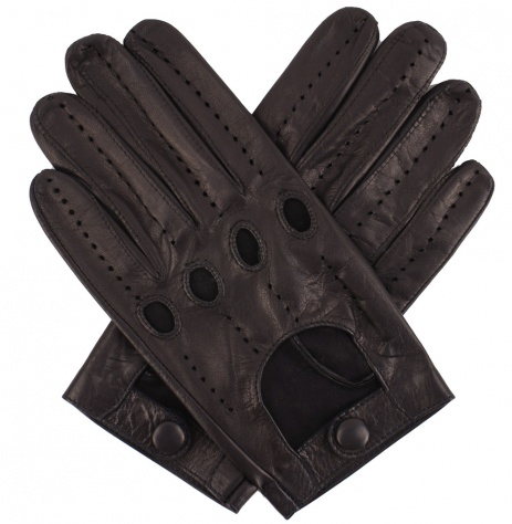 Tom Dick and Harry Men's Classic Driving Gloves - Black