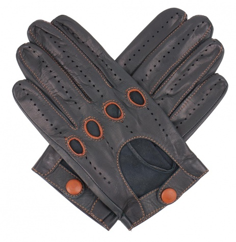 Tom Dick and Harry Men's Driving Gloves - British Racing Green