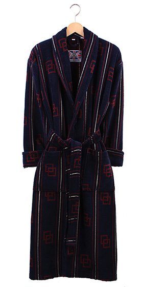 Bown Dressing Gown - Maine Velours Cotton