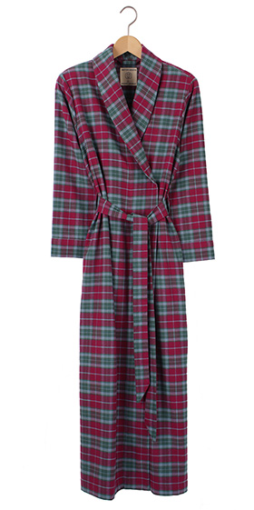 British Boxers Ladies Robe - Brunello Check