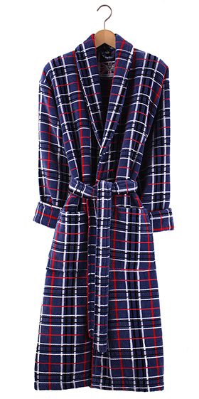 Bown Dressing Gown - Penzance Velours Check