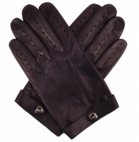 Dents Spectre Driving Gloves Mens - Black