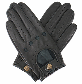 Dents Delta Driving Gloves - British Racing Green