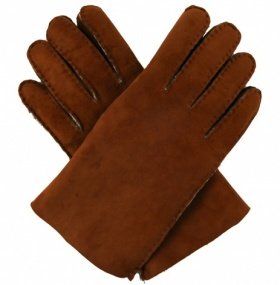 Men's Lambskin Gloves - Tan