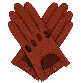 Southcombe Ladies Driving Gloves - Cognac