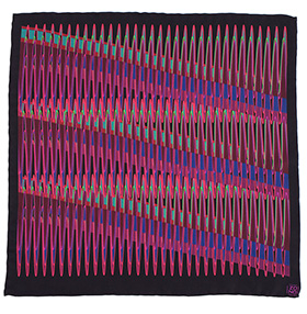 Zana Neon Silk Pocket Square