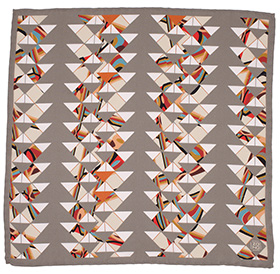 Zana Building Blocks Silk Pocket Square